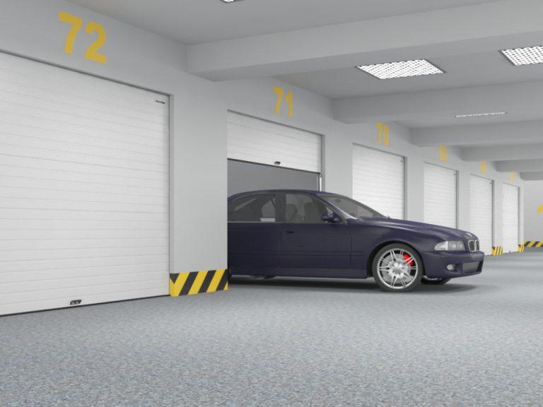 Крытый гаражный комплекс, паркинги