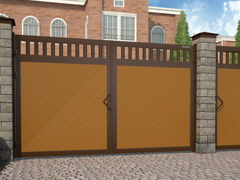 Распашные ворота и отдельностоящие калитки