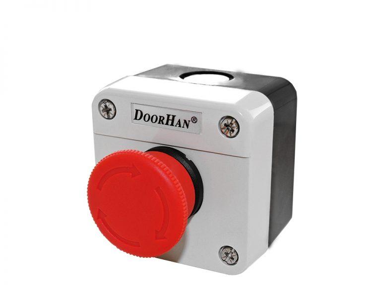 Кнопка аварийной остановки привода
